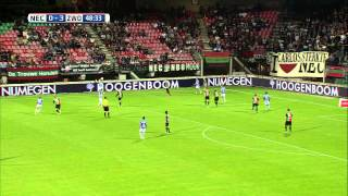 NEC vs PEC Zwolle (Eredivisie 2013-2014 - Round 3 highlishts)