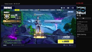 SA PART EN LIVE AVEC LE NEX SKIN SUR FORTNITE BATTLE ROYALE !!!!