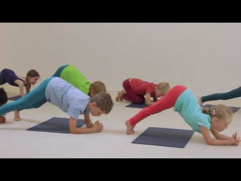 Creative Yoga Games for Kids -  Look!