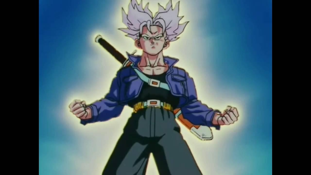 Mirai Trunks Transformation Super Saiyan Dragon Ball Z