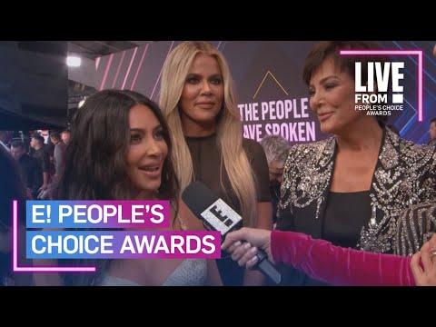 "Kardashians Call E! PCAs the ""Most Exciting Award Show"" | E! People's Choice Awards"