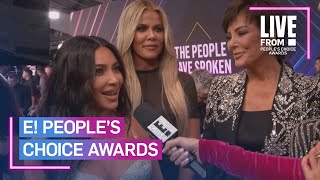 """Download Kardashians Call E! PCAs the """"Most Exciting Award Show"""" 