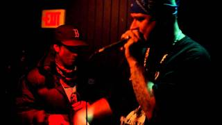 Evil Dead (rhetoric and diablo) and Ricky Mortis - Freestyle Live @ The Western Front 12-23-10