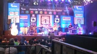 Nikhil Dsouza performing live at Kala Ghoda Arts Festival 2014