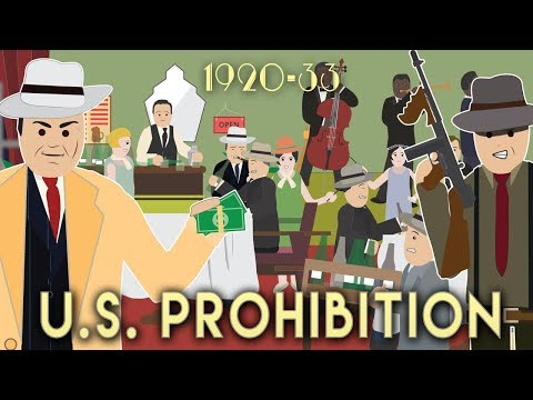US Prohibition 192033