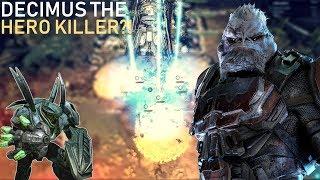 Halo Wars 2 - Is Decimus the best Hero-Killing Leader of this meta?