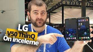 LG V50 ThinQ 5G ön inceleme - Açılır ekran kılıfını da denedik!