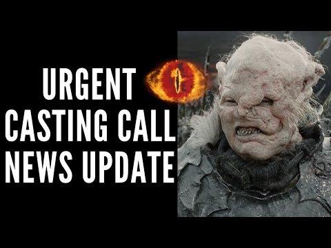 Urgent LOTR TV Series Casting Call News Update