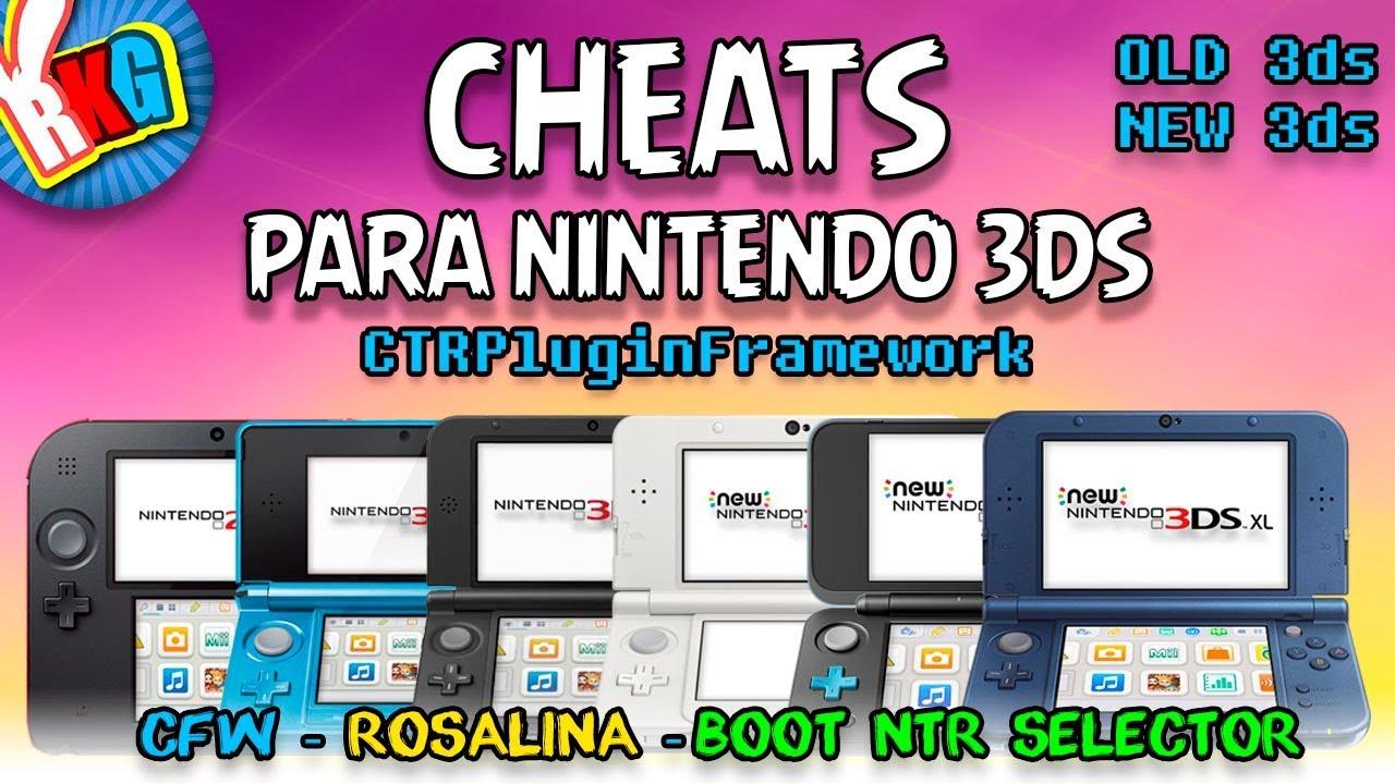 Habilitar Cheats Para Juegos Nintendo 3ds Con Rosalina Y Boot Ntr