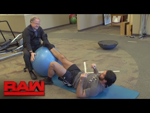 Thumbnail: Seth Rollins grants an inside look at his rehabilitation: Raw, March 6, 2017