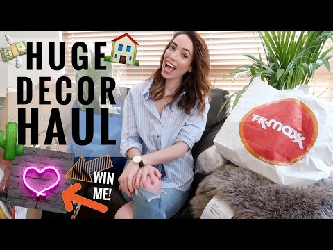HUGE INTERIORS / HOME DECOR HAUL: IKEA, TKMAXX, PRIMARK HOME AND MORE! | CIARA O DOHERTY