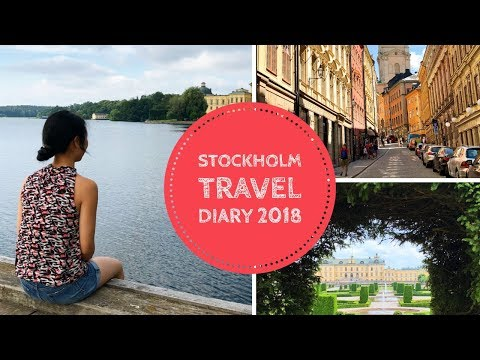STOCKHOLM, SWEDEN TRAVEL DIARY 2018 || iPhone8 City Tour
