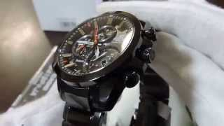 close up casio edifice bluetooth smart eqb 500 black