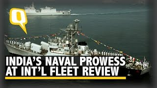 India Shows Off Maritime Might at International Fleet Review