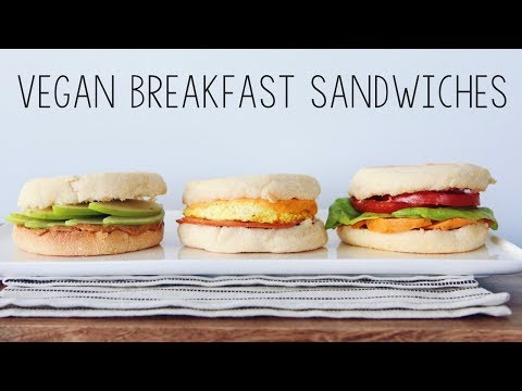 VEGAN BREAKFAST SANDWICH RECIPES