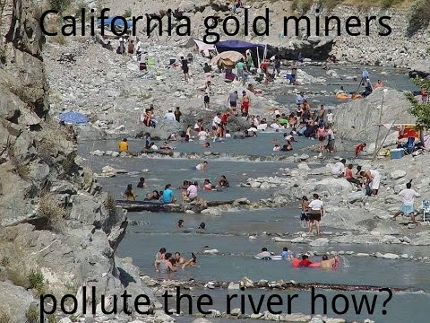 CA Appropriations Committee on Suction Dredge Gold  Mining 5-18-2015