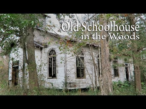 Abandoned Schoolhouse - Amazing What's Still Inside!