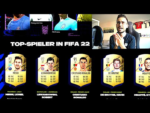 OFFIZIELLE FIFA 22 RATINGS REAKTION !!! 🤯🔥 FIFA 22 Top 22 Spieler Ratings Reaction