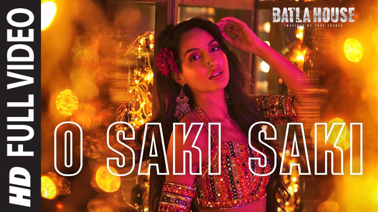 Full Song: O Saki Saki  Batla House  Nora Fatehi, Tanishk B,neha K,tulsi K, B Praak,vishal-shekhar