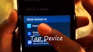 How to Copy /Transfer Contacts From Sim Card to Phone on Samsung Galaxy S5