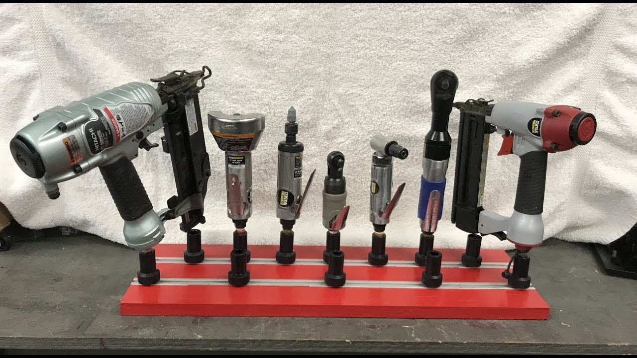 air pneumatic tool storage