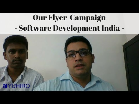 Our new Flyer Campaign – Software Development Services India