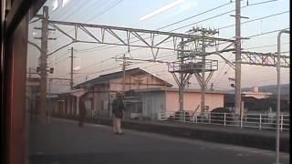 113系片浜~東田子の浦車窓 紅富士