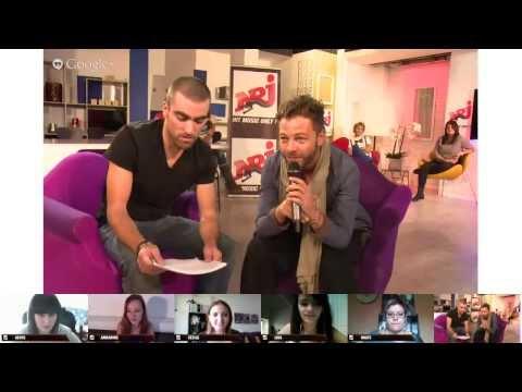NRJ Hangout Christophe Maé