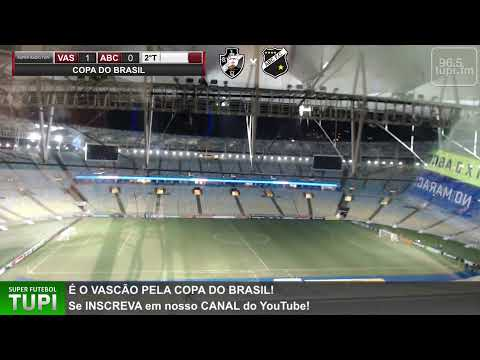 Vasco 1 x 0 ABC - Copa do Brasil - 2ª Fase - 05/03/2020 - AO VIVO