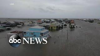 Barry dumps more rain as flood worries continue