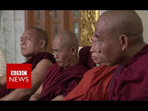 Rohingya crisis: Meeting Myanmar\'s hardline Buddhist monks - BBC News