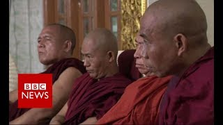 Rohingya crisis: Meeting Myanmar\'s hardline Buddhist monks - BBC News