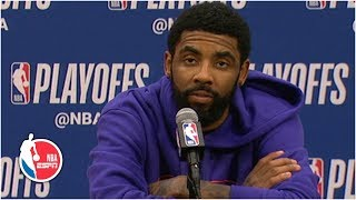 Kyrie Irving: Celtics know what's at stake to sweep series vs. Pacers | 2019 NBA Playoffs