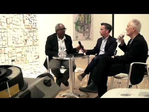 David Reed and Stanley Whitney in conversation with Dean Daderko