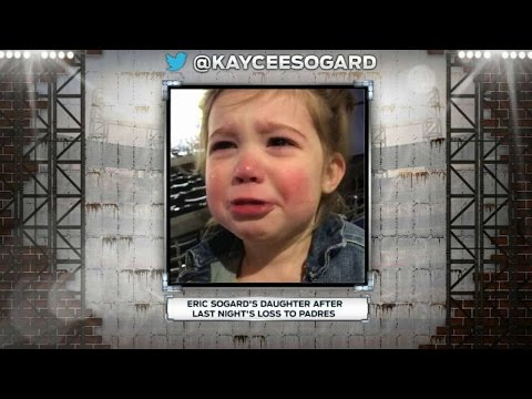 MIL@SD: Sogard's daughter cries following tough loss
