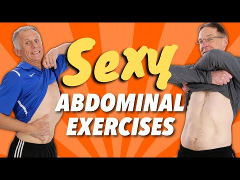 5 Sexy Abdominal Exercises (Easy on the Back) (Good for Back Pain)