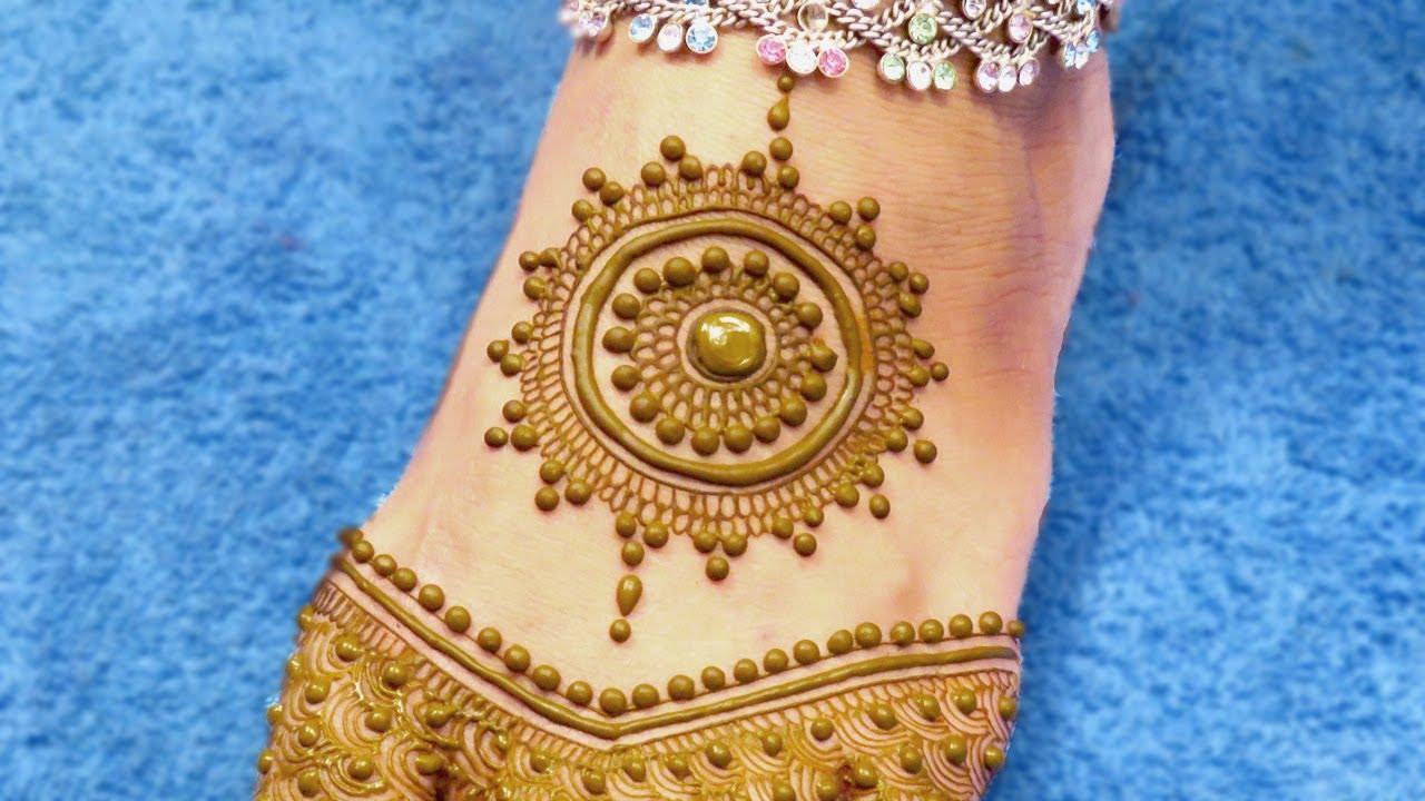 Mehndi Mehndi Ke Design : Mehndi designs for legs gol tikki mehandi