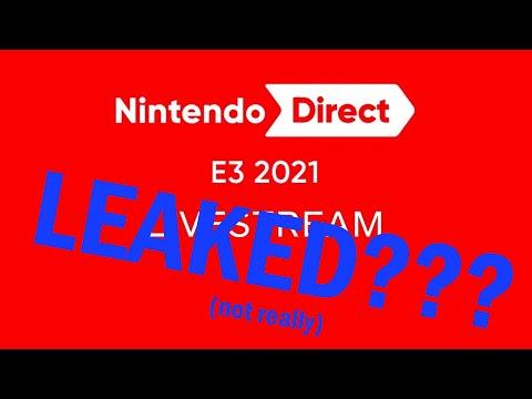 Leaking Nintendo's E3 Direct (in exact detail)