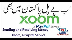 Send and receive money to Pakistan by PayPal Xoom service