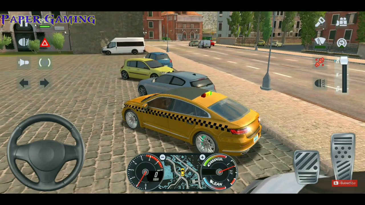 LUXURY CARS TAXI DRIVER 🚖🤑 City Car Driving Games Android iOS – Taxi Sim 2020 Gameplay 🚦🚧