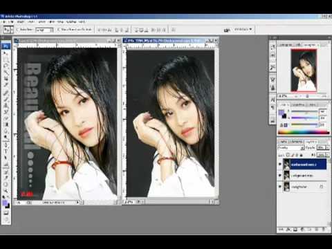 Phần 7 - Bài 5 - Cac hieu ung lop phai biet - Photoshop CS2