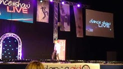 Junior Frood dancing at Glasgow SECC Arena for Dance Show Live