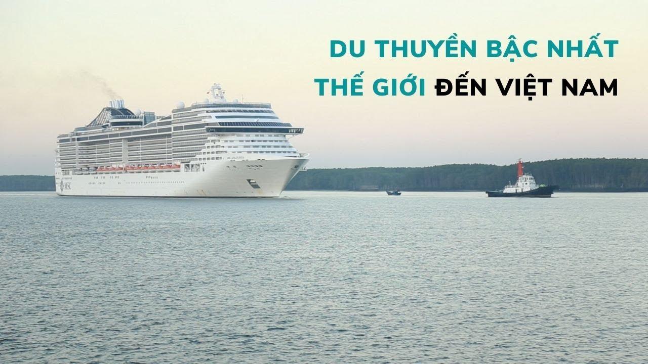 """Du thuyền """"khách sạn nổi"""" xa xỉ bậc nhất thế giới đến Bà Rịa - Vũng Tàu #1"""