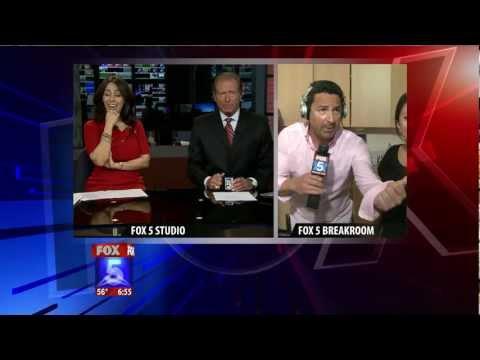 Breaking News in the Fox 5 San Diego Breakroom!!