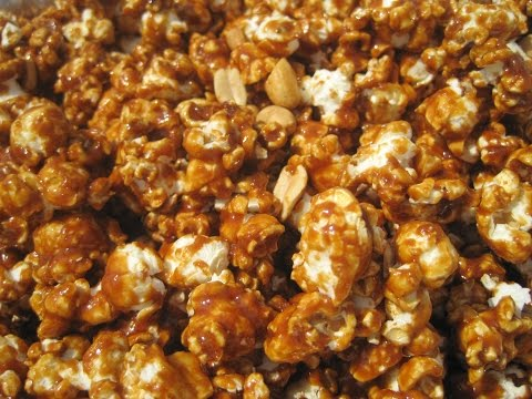 CARAMEL CORN - How To Make Crunchy CARAMEL CORN Recipe