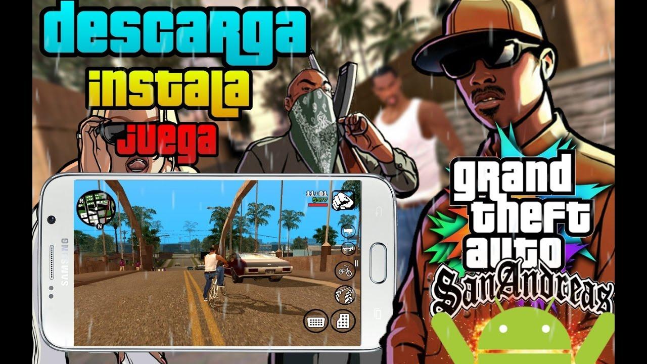 Como Descargar E Instalar Gta Sa Grand Theft Auto San