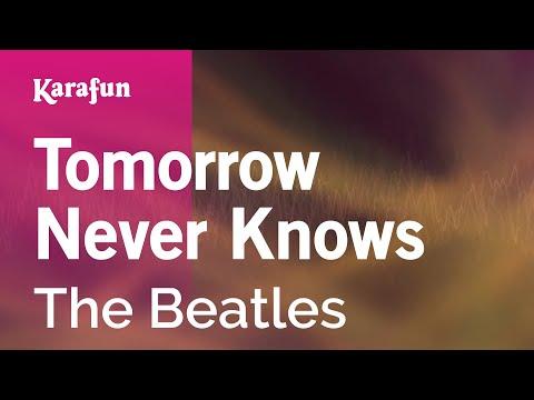 Karaoke Tomorrow Never Knows - The Beatles *
