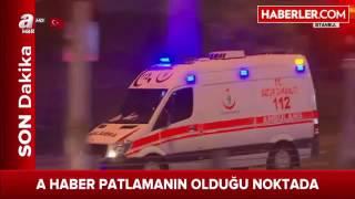 Son dakika! Beşiktaş'ta Meydana Gelen Patlamadan İlk Görüntüler Geldi   Haberler com