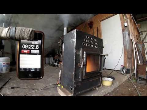 Pellet stove homemade part 4 4 39 automatic feeder for How to make a homemade stove