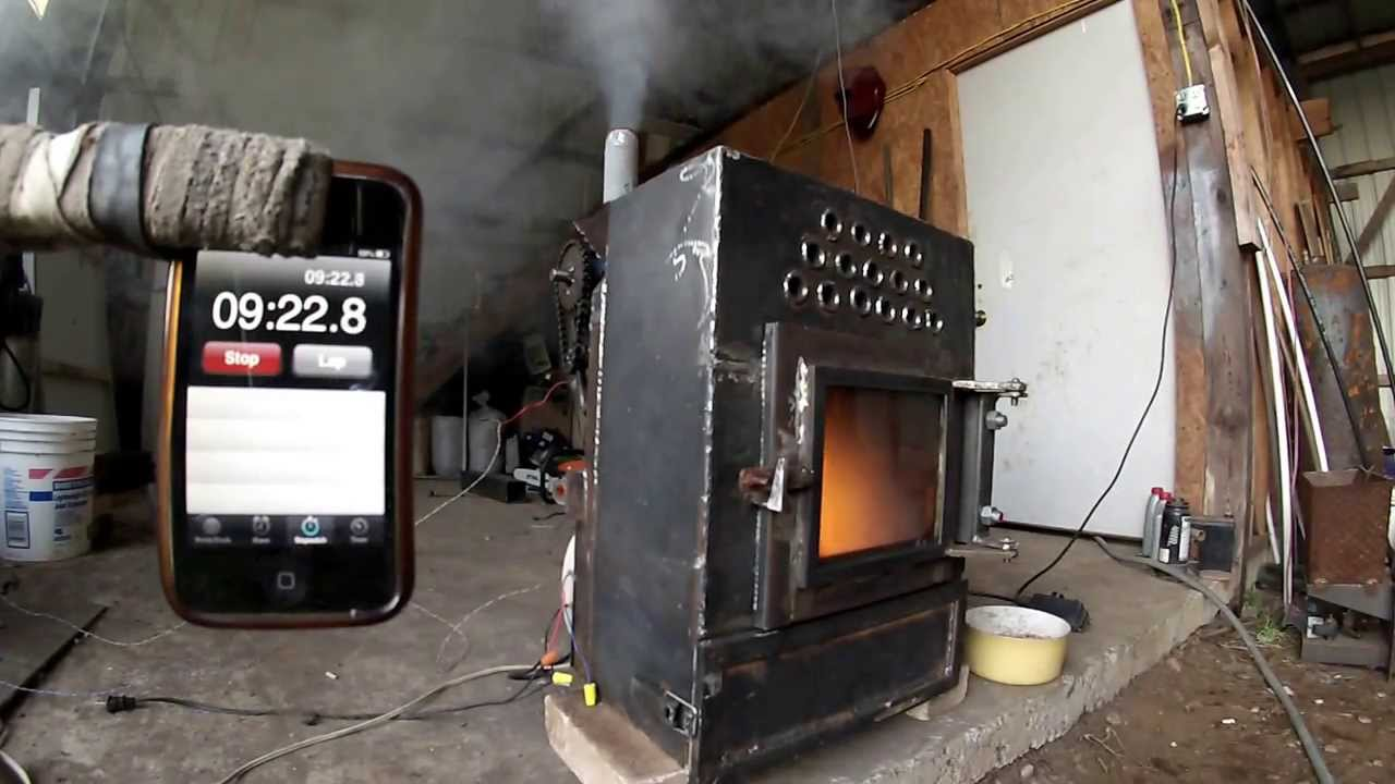 Pellet Stove Homemade Part 2 4 Youtube